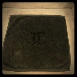 Authentic Chanel hand towel